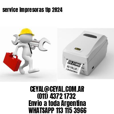 service impresoras tlp 2824