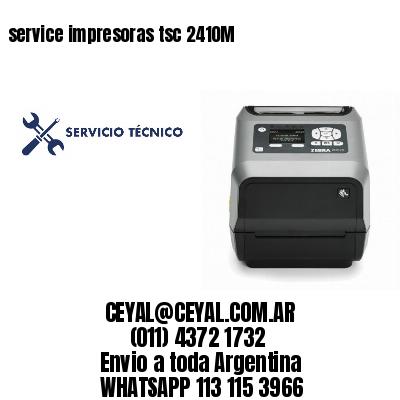 service impresoras tsc 2410M