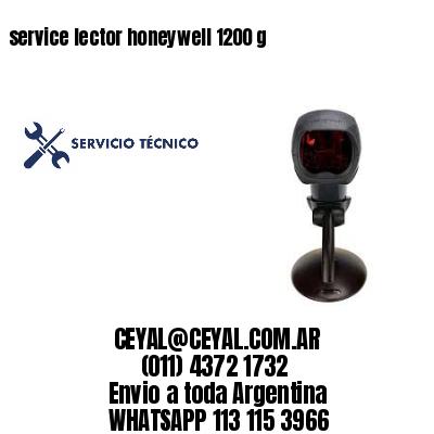 service lector honeywell 1200 g