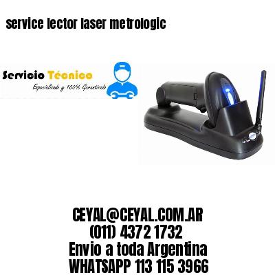 service lector laser metrologic