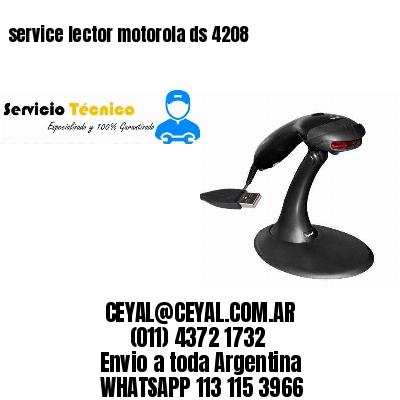 service lector motorola ds 4208