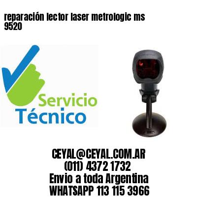 reparación lector laser metrologic ms 9520