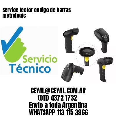 service lector codigo de barras metrologic
