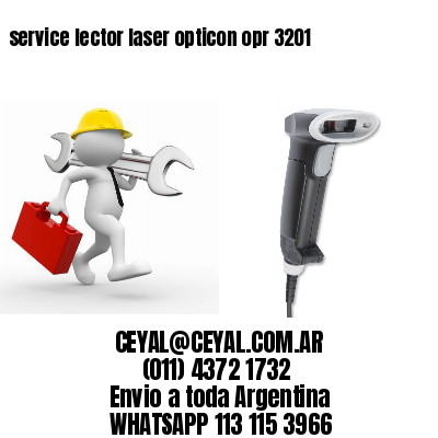 service lector laser opticon opr 3201