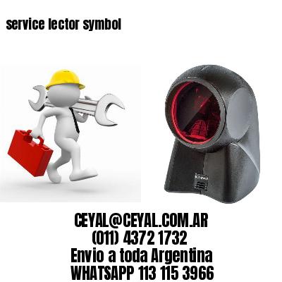 service lector symbol
