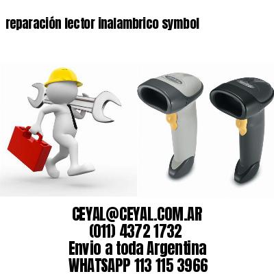 reparación lector inalambrico symbol
