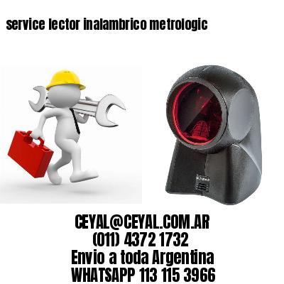 service lector inalambrico metrologic