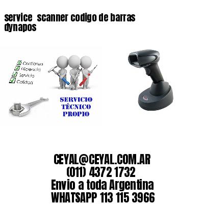 service  scanner codigo de barras dynapos