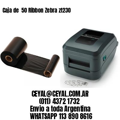 Caja de  50 Ribbon Zebra zt230