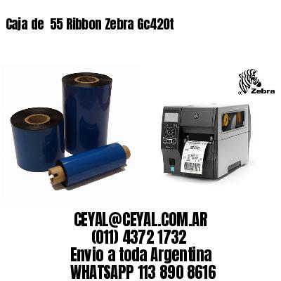 Caja de  55 Ribbon Zebra Gc420t
