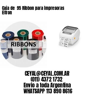 Caja de  95 Ribbon para impresoras Eltron