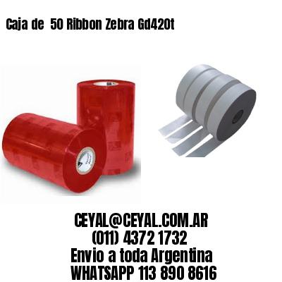 Caja de  50 Ribbon Zebra Gd420t