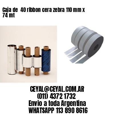 etiquetas térmicas 40 x 115