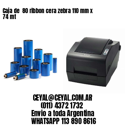 impresora de etiquetas autoadhesivas zebra 55 x 95