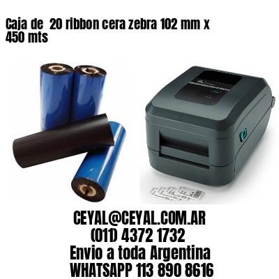 stock de etiquetas autoadhesivas de impresoras zebra  65 x 35