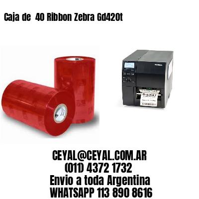 impresora de etiquetas autoadhesivas zebra 65 x 135