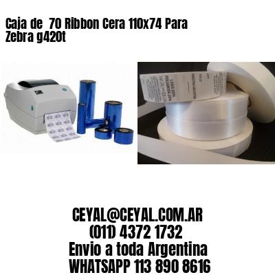 stock de etiquetas autoadhesivas de impresoras zebra  60 x 70