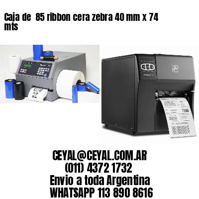 impresora de etiquetas autoadhesivas zebra 65 x 55