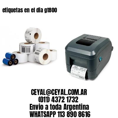impresora de etiquetas autoadhesivas zebra 65 x 105