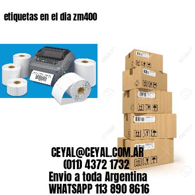 impresora de etiquetas autoadhesivas zebra 75 x 60