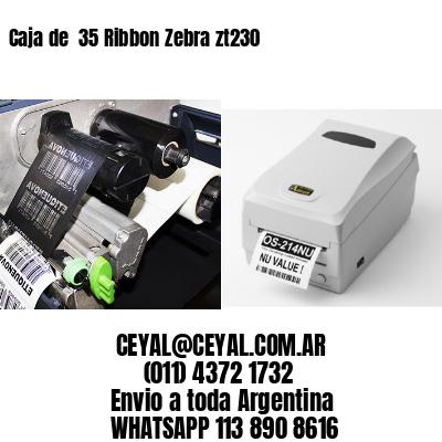 Caja de  35 Ribbon Zebra zt230