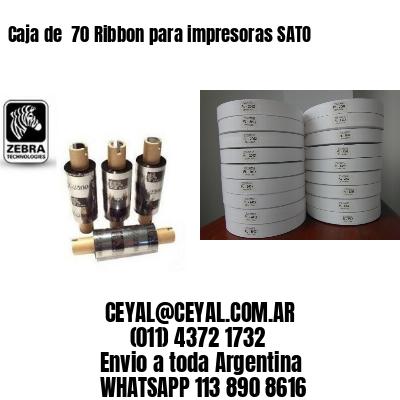 Caja de  70 Ribbon para impresoras SATO