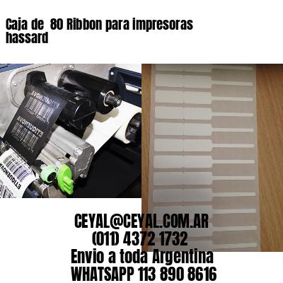 Caja de  80 Ribbon para impresoras hassard