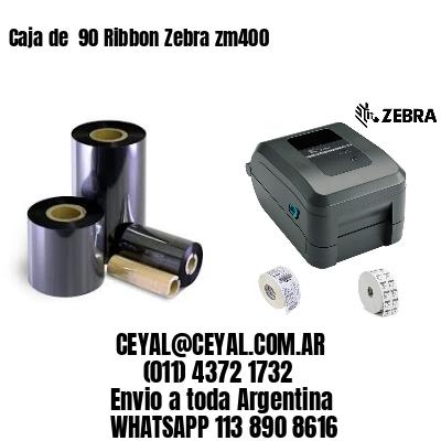 Caja de  90 Ribbon Zebra zm400
